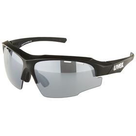 UVEX sportstyle 107 LTD Brille black mat/litemirror silver